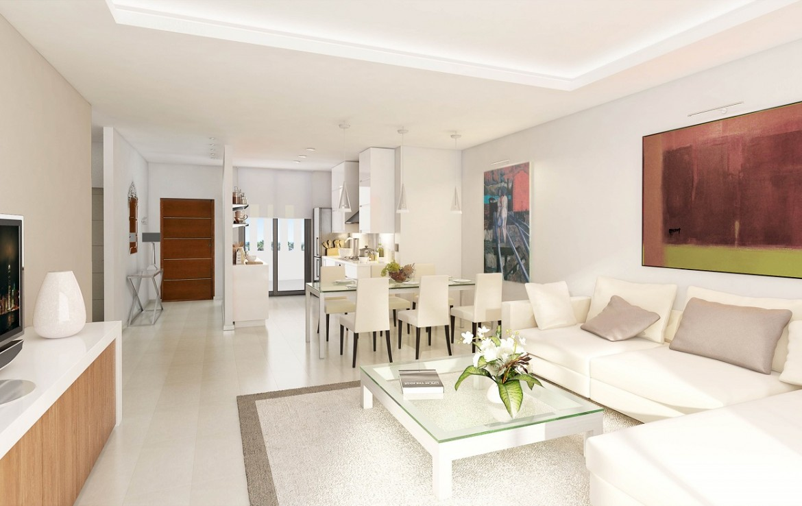 living area of Stunning New Boutique Development in Costalita