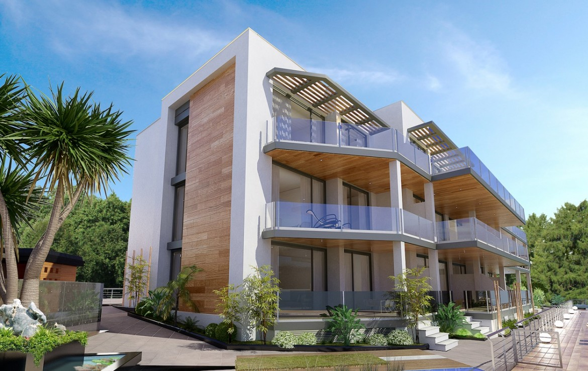 side view of Stunning New Boutique Development in Costalita