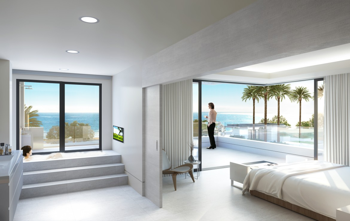 Modern Beachfront Apartments in New Golden Mile