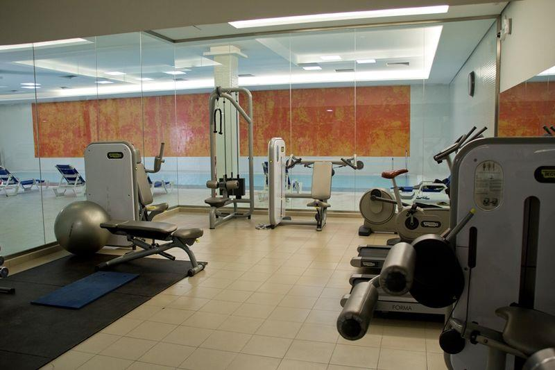 Gym at New Apartments in Sotogrande Marina