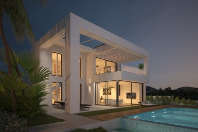 Luxury Boutique Modern Villas In Mijas