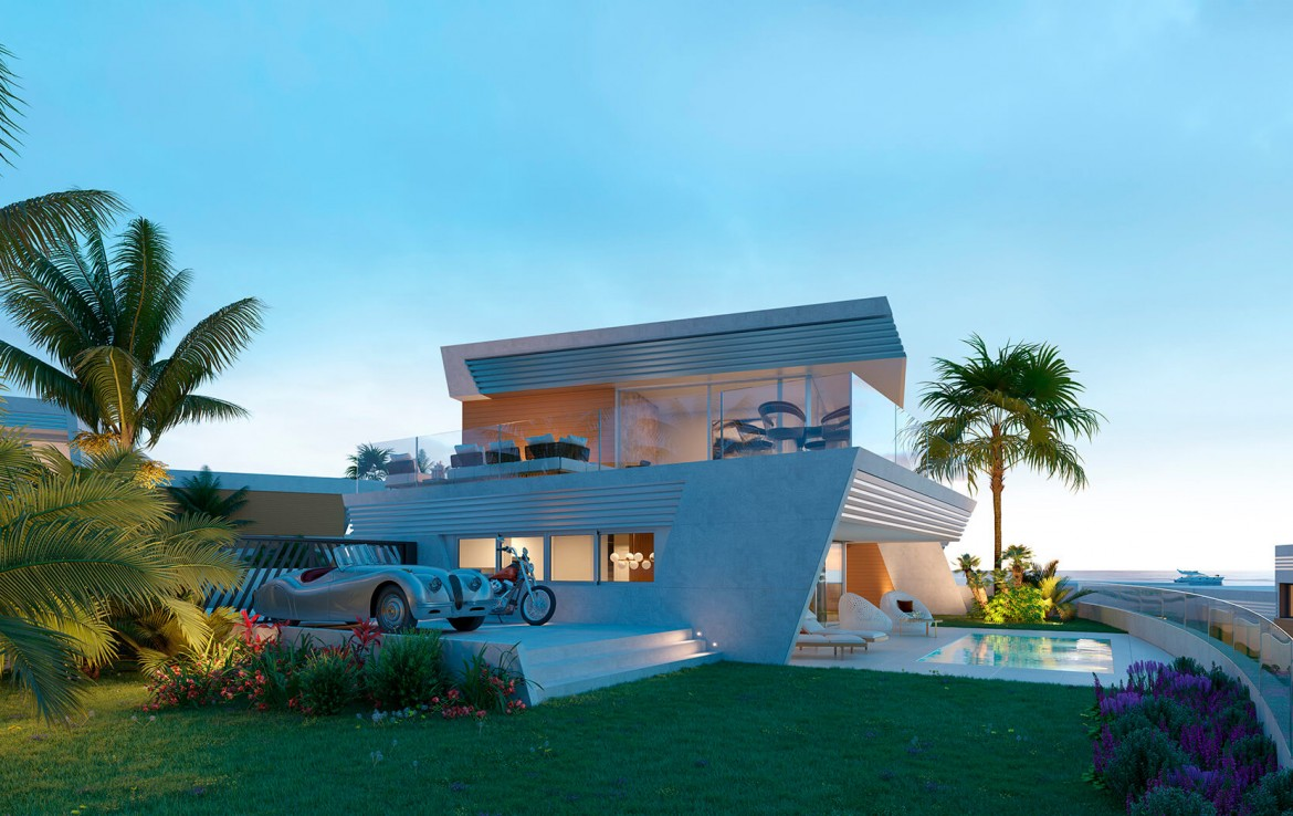 Contemporary Villas in Mijas Costa