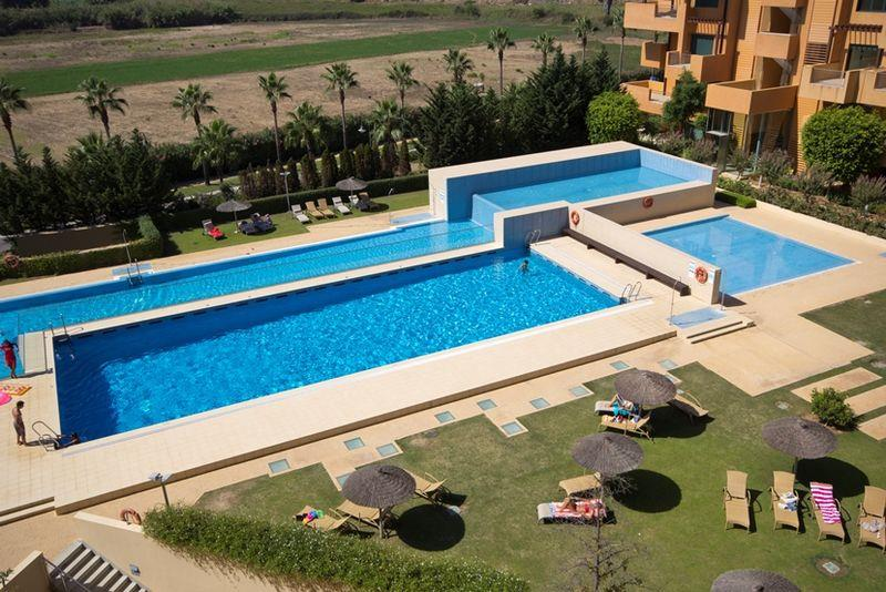 pools at New Apartments in Sotogrande Marina