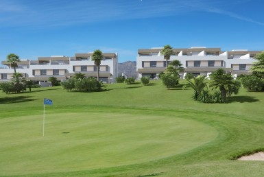Golf Views at new spacious townhouses in la cala golf