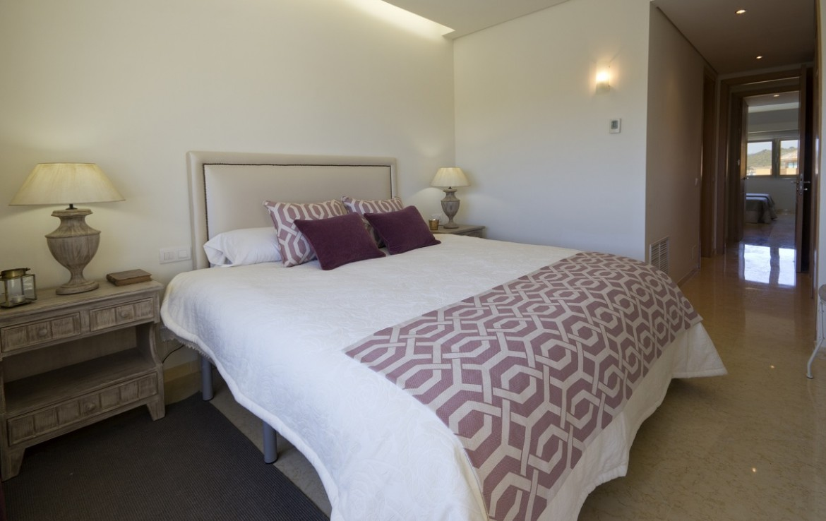 bedroom of New Apartments in Sotogrande Marina