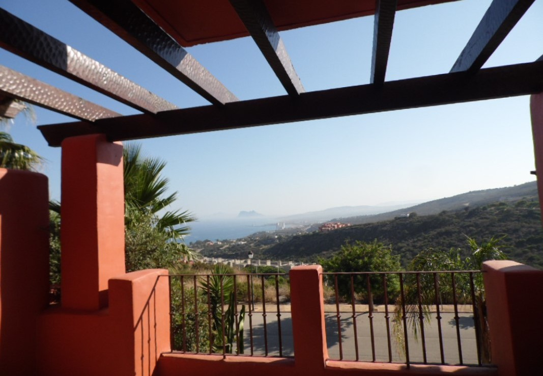 views from Luxury sea-view Townhouse near Sotogrande