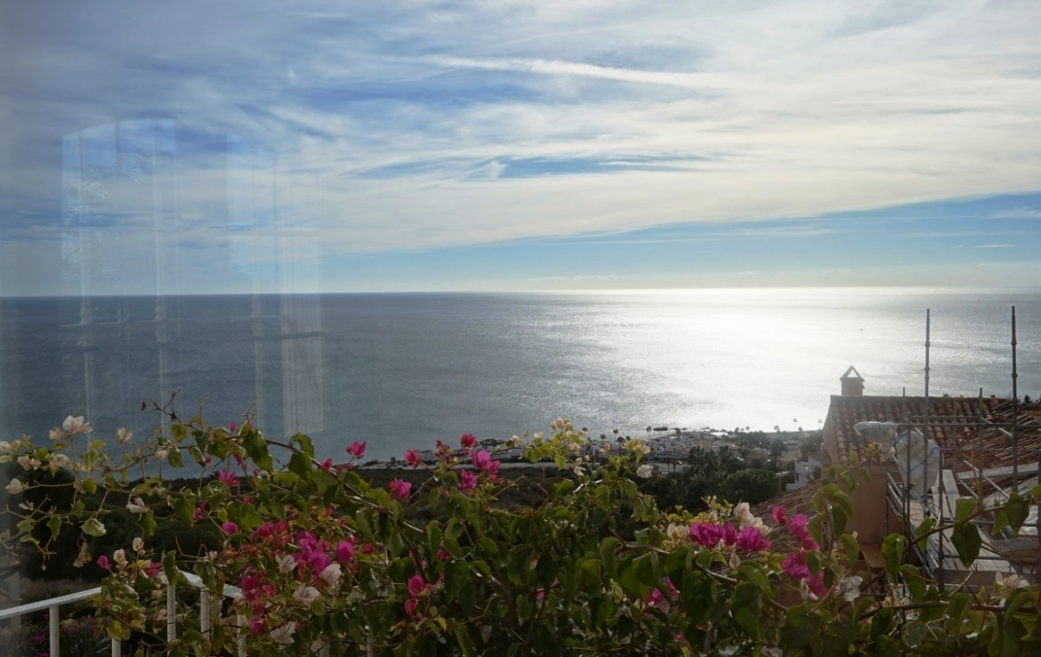 Views from Manilva Villa with Stunning Sea Views