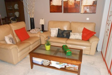 living room at Estepona Apartment walking distance to beach