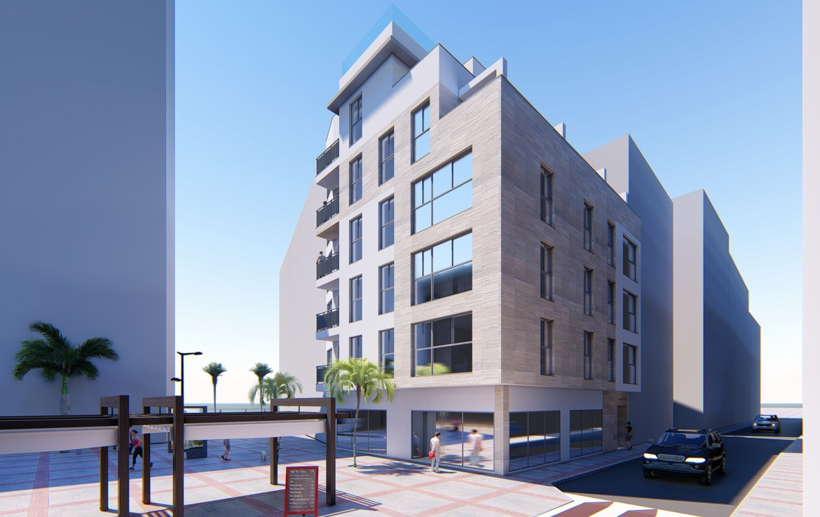 Modern City Centre Apartments in Estepona