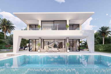 Contemporary Villas in La Duquesa