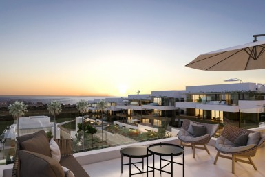Luxury New Apartments in Estepona Marina