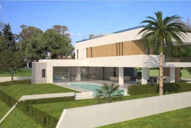 side view of New Luxury Villa in La Alqueria