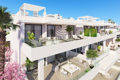 Contemporary New Apartments in Estepona
