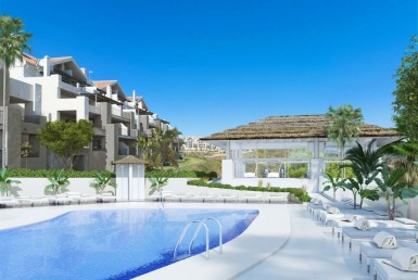 Contemporary Apartments in Mijas