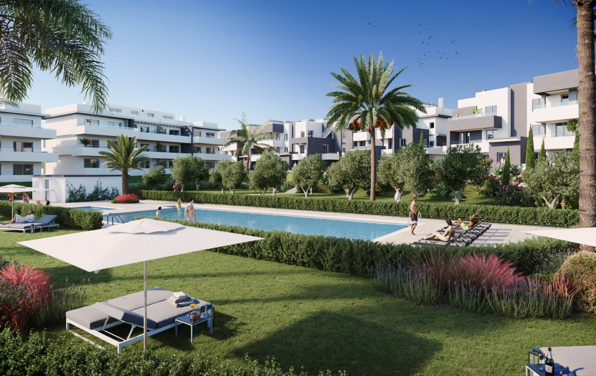 Modern Apartments West of Estepona