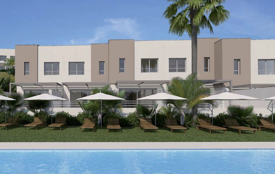 Mediterranean Style Contemporary Town Houses In Estepona