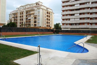 pool at Apartment in Central Estepona