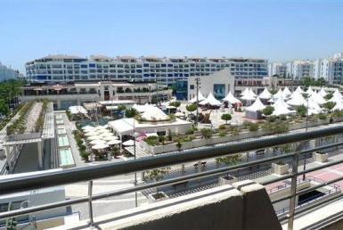 View of Plaza at Central Puerto Banus Apartment