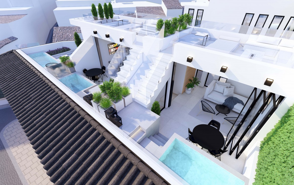 Luxury New Townhouses in Estepona centre