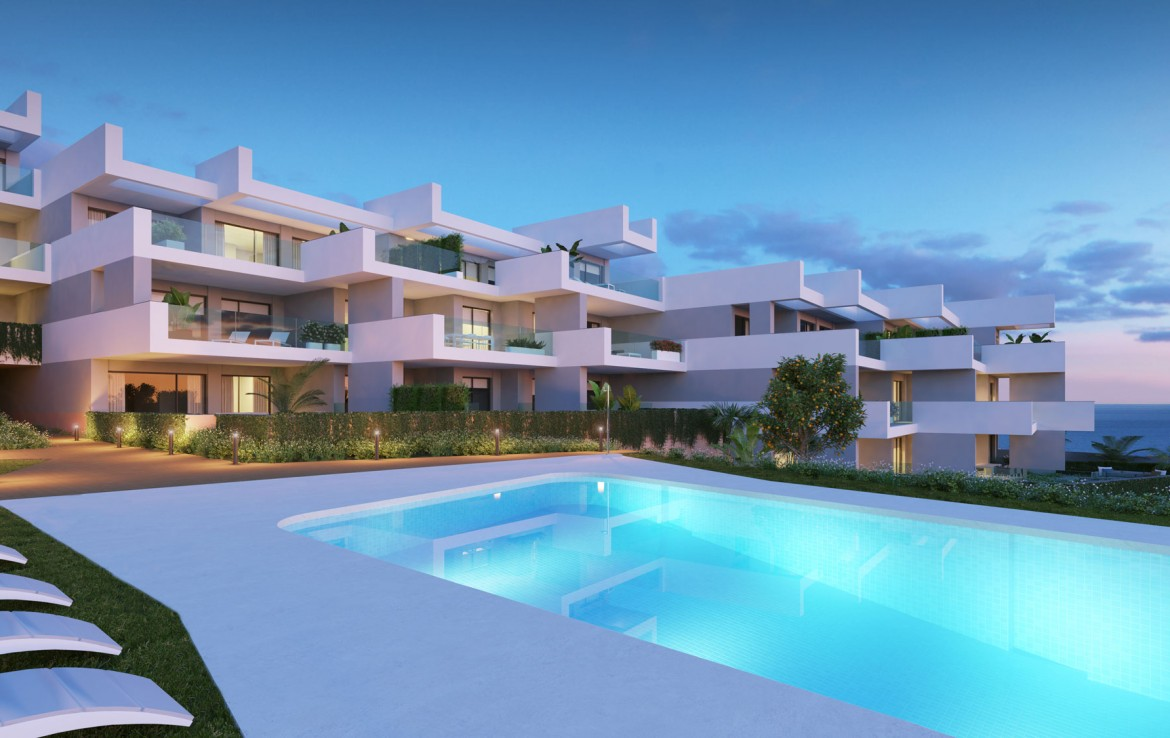 New Modern Contemporary Apartments in Estepona