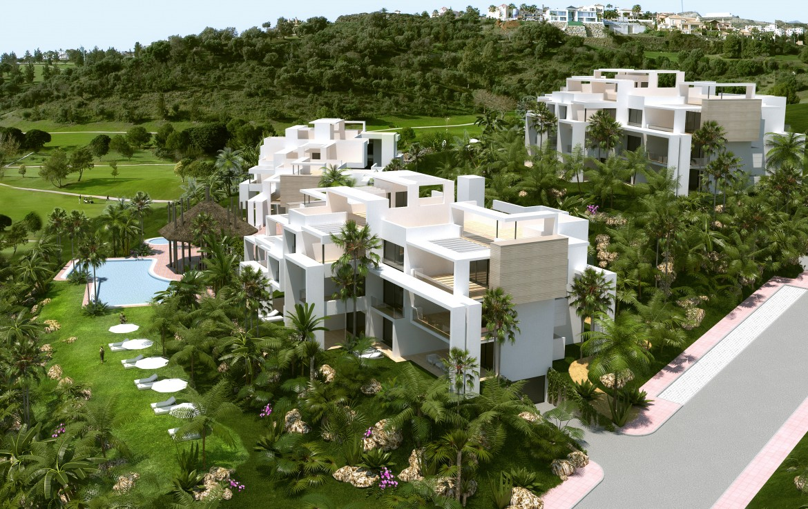 complex of Sea View Apartment in Atalaya Hills