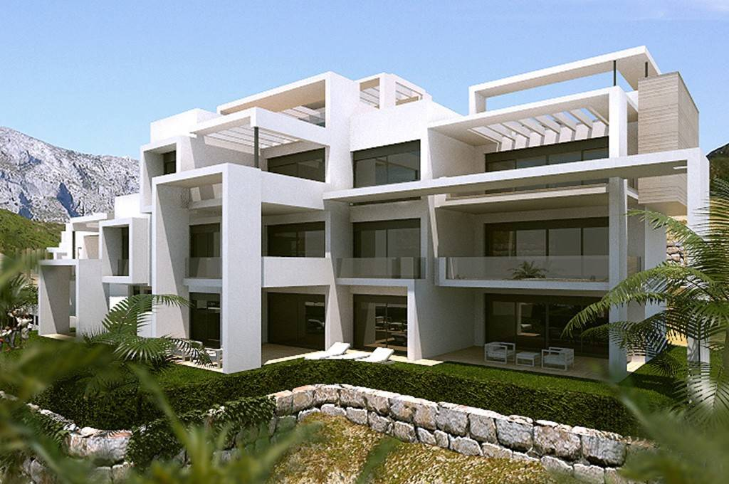 Front of Sea View Apartment in Atalaya Hills