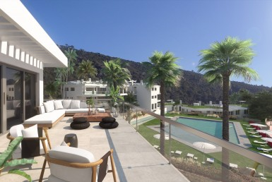Riverside Apartments in Benahavis