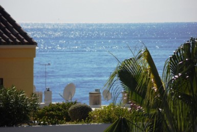 view from Estepona Townhouse near Port