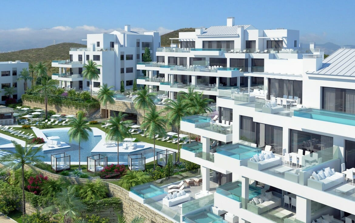New Apartments in Mijas Costa