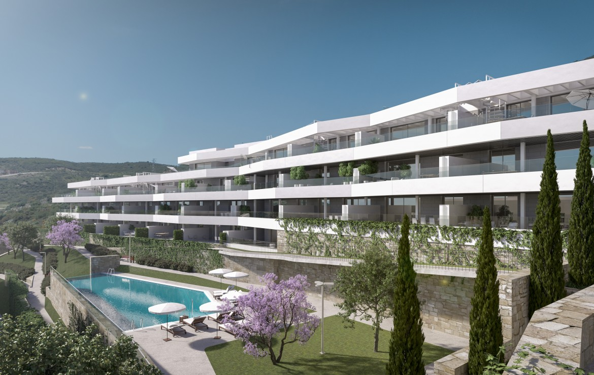 Fantastic Modern South-Facing Apartments In Estepona