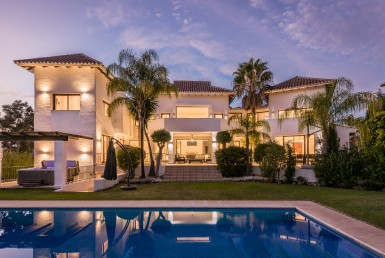 Luxury Villa on Marbella's Golden Mile