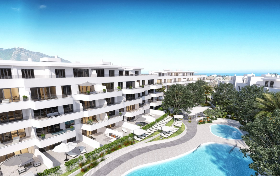Contemporary Apartments in Mijas Golf